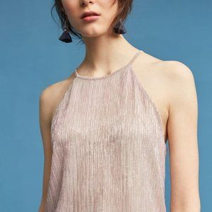 Maeve Rose Gold Shimmery Tank
